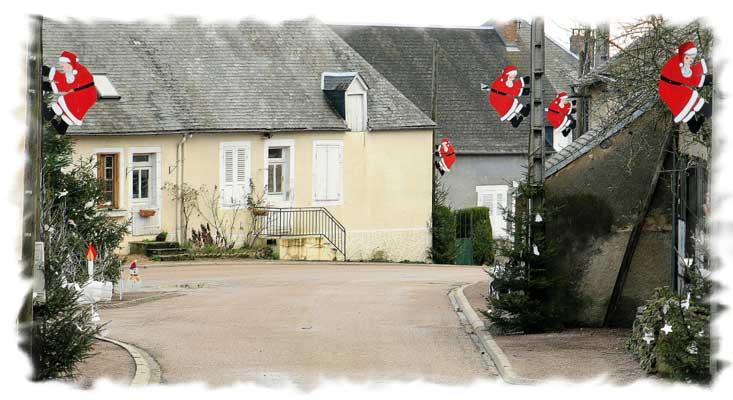 Bourg Decore Pour Noel
